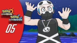 Pokemon Ultra Sun | Ultra Moon [Walkthrough #05] - Route 2 & Team Skull