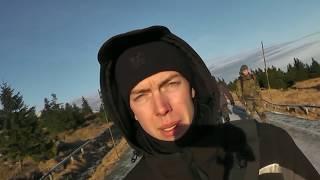 Fritz Meinecke getroffen /lagerbau /bushcraft /trekking/Harz /Deutsch