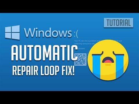 How to Fix Automatic Repair Loop in Windows 10