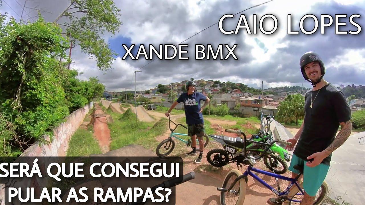 RAMPAS GIGANTES DE BIKE COM CAIO LOPES E XANDE BMX!