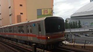 【鉄道動画】後楽園駅にて 東京メトロ丸ノ内線02系到着シーン