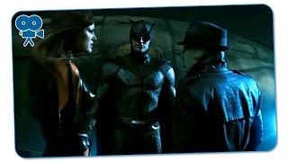 Роршаха освобождают из тюрьмы Шёлковый Призрак и Ночной Филин. Хранители
