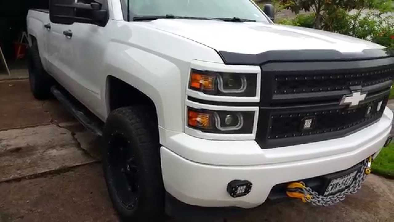 2014 Silverado Custom Fog Lights Youtube