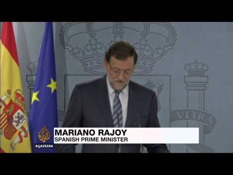 Spain suspends Catalonia independence vote