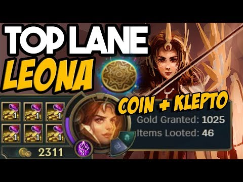Leona TOP with Kleptomancy and Ancient coin | Adventures of SpicyNoodle264 #Episode2