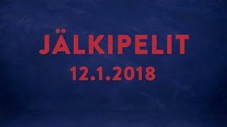 Jälkipelit 12.1.2018 - Jarmo Jokila ja Anssi Virkki
