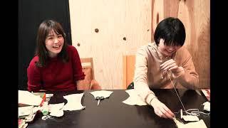 Megu(Negicco)がNao☆(Negicco)に教わりながら手縫いでマスクを作ります。 #1です。