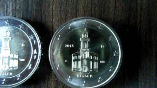 2 Euro Bundesländer Serie 2015 - Frankfurter Paulskirche (Hessen) 2015