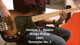 Fender Precision Bass Deluxe - Mod Demo (Stellartone, Coils Boutique)