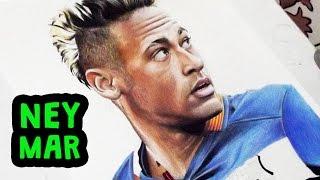 Desenhando o Neymar