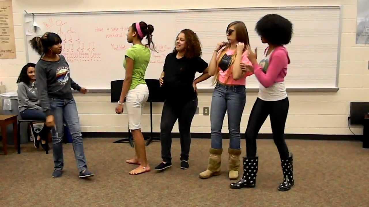 Ratchet Girl Anthem - SCHS Girls - YouTube