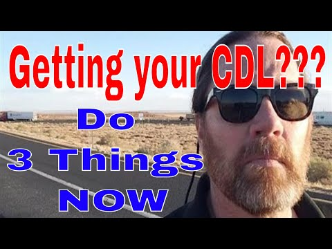 3 Things You MUST Do Before CDL Trucking School | Red Viking Trucker