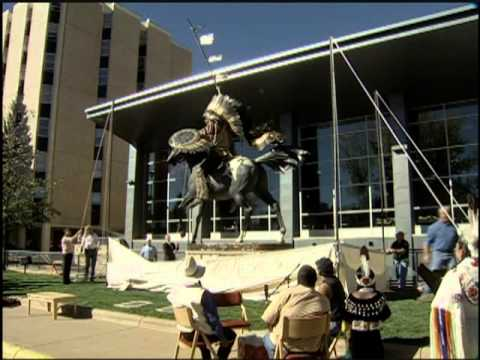 Chief Washakie Statue Unveiling: Wyoming Signatures Feature