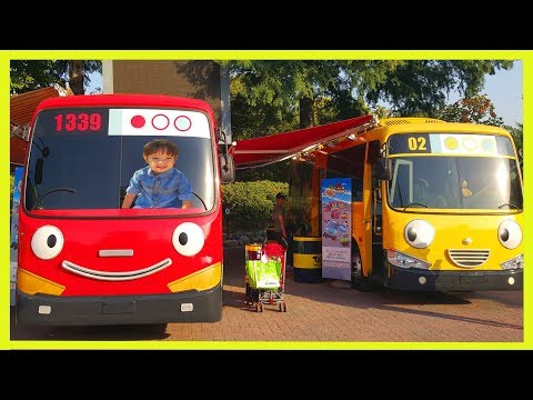 Thumbnail: Tayo Bus Kids Cafe Funny Indoor Playground for Kids `