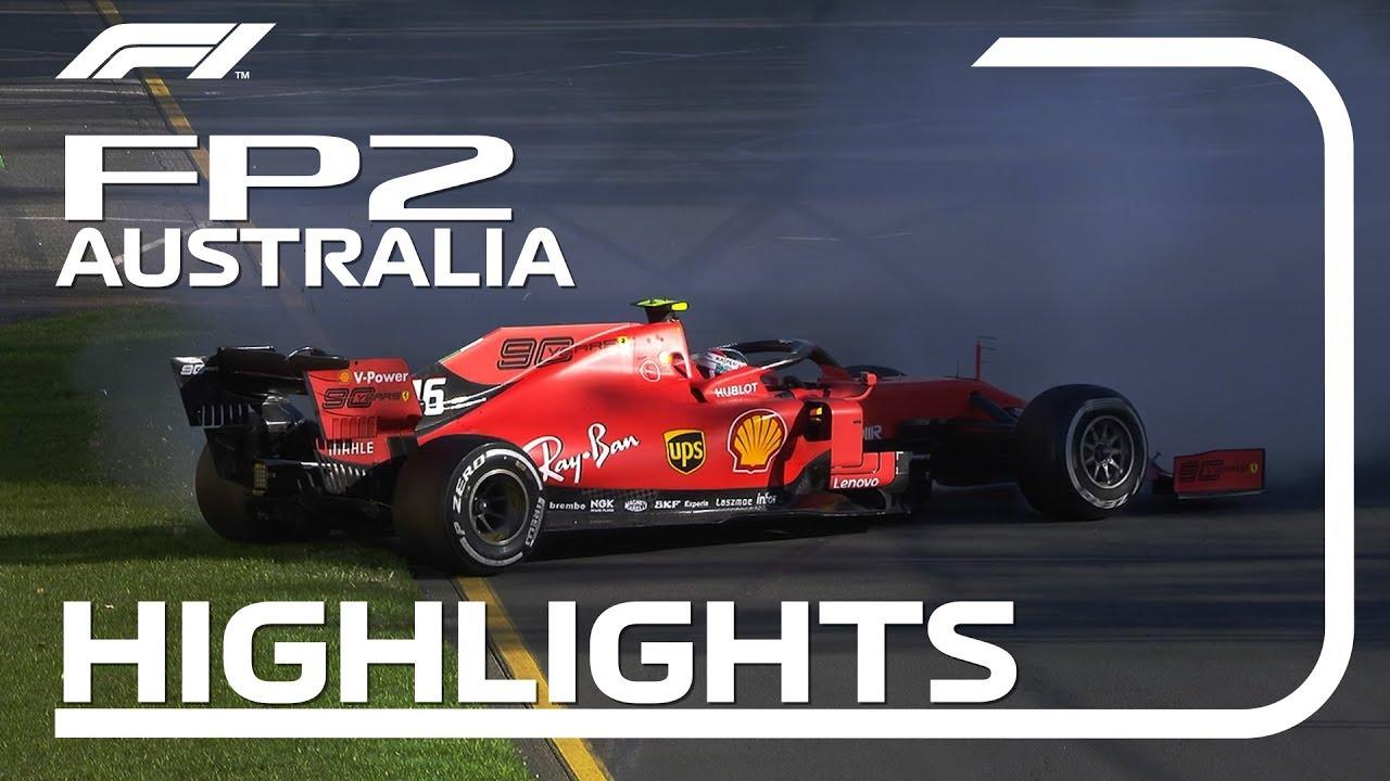 2019 Australian Grand Prix: FP2 Highlights