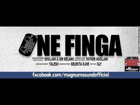 one finga