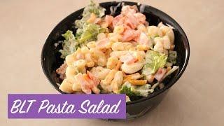 HEALTHY NOMS: BLT Pasta Salad (perfect picnic food!)
