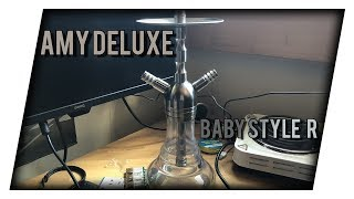 DIE BESTE GÜNSTIGSTE SHISHA ? AMY DELUXE Baby Style R    Produktvorstellung
