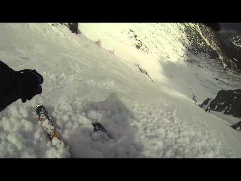 Tuckerman Ravine Skiing GoPro - April 12, 2014