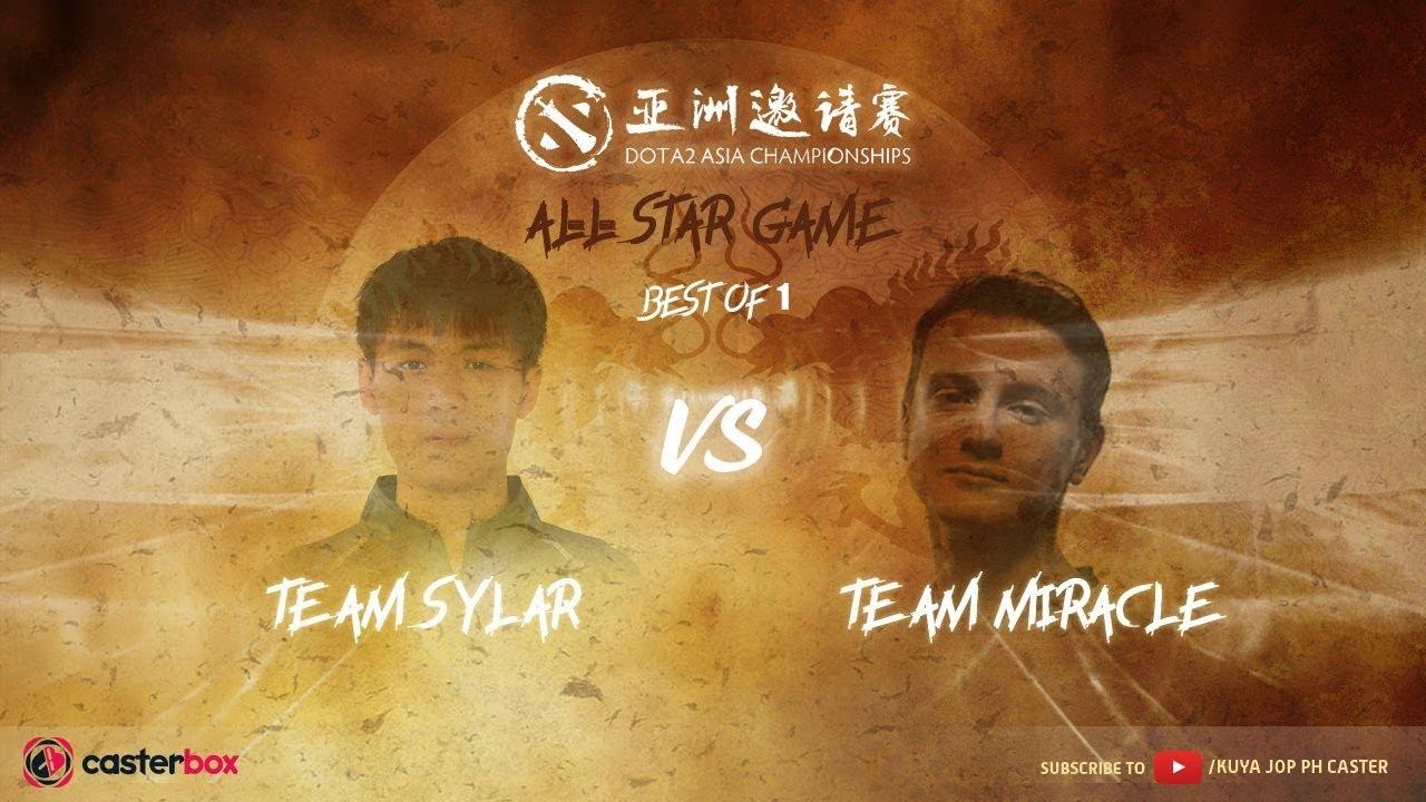 [DOTA 2 PH LIVE] TEAM MIRACLE VS TEAM SYLAR Dota 2 Asia Championships 2018 - All Star Match