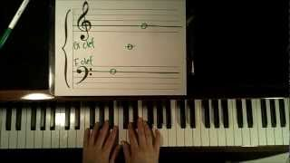 Learn How to Read Music: Video 1 - Grand Staff Notes - Piano  Tutorial (easy)  HD