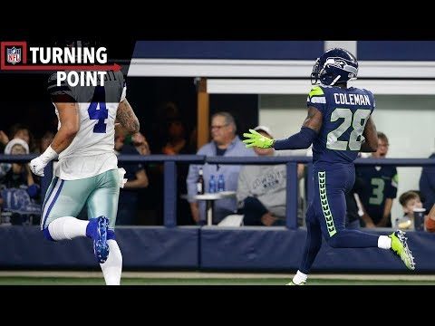 Coleman's Pick 6 Crushes Cowboys' Playoff Hopes (Week 16) | NFL Turning Point