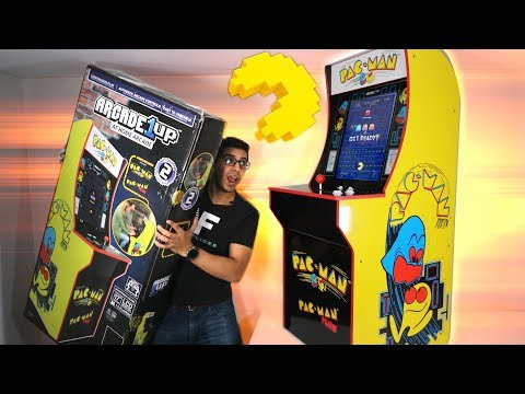 Pac-Man Machine!? Arcade1UP - ULTIMATE UNBOXING & REVIEW!