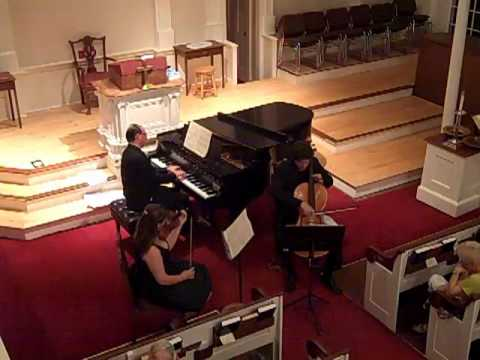 CLASSICOPIA presents Mendelssohn D Minor Piano Trio--2nd mvt