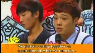 [eng] Sunhwa Jieun Hongki Jaejin listen to funny