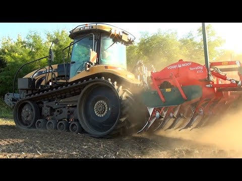 EXTREME Conditions and Motor Sound | CAT Challenger MT865C & Case Quadtrac 620 | 525hp + 692hp