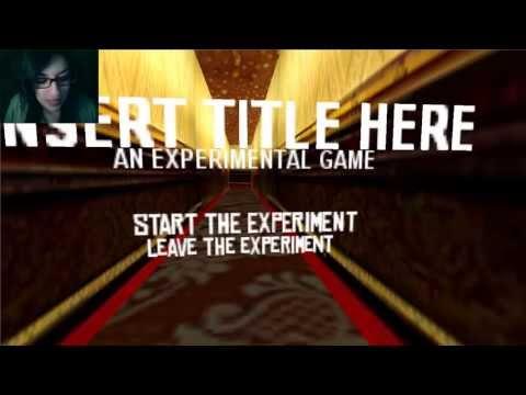 Insert Title Here - El juego juega conmigo :c (gameplay en español)