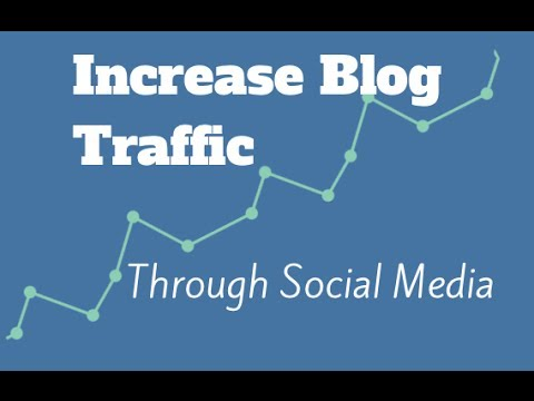 Increasing Blog Traffic through Social Media – Web Design Course (Part 12 of 12)