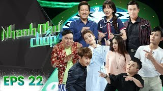 Nhanh Như Chớp | Tập 22 Full: Trường Giang - Hari Won Âm Mưu Vùi Dập Khách Mời Không Thương Tiếc