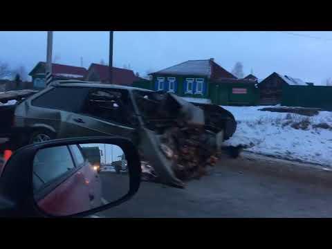 Смертельное ДТП под Каменском-Уральским