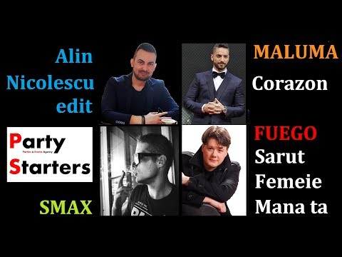 Fuego vs. Maluma - Sarut Femeie Corazon - Smax Remix (Alin Nicolescu Edit)