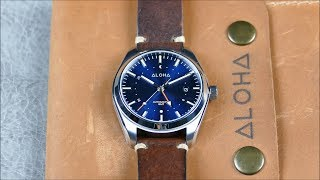 On the Wrist, from off the Cuff: Aloha – GMT 40, Another Killer Microbrand!