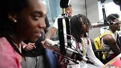 Migos fire in the booth