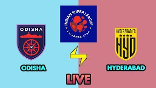 Live ISL Odisha Fc Vs Hyderabad Fc Live Isl