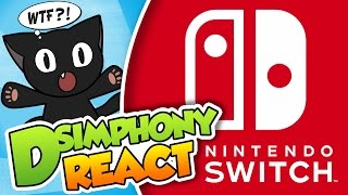 LA NUEVA CONSOLA DE NINTENDO, Nintendo Switch!!| DSimphony React (Video-reacción) #DSimReact