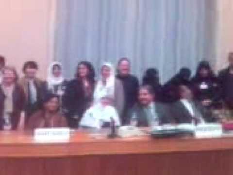 Saudi Arabian delegation to UN Women's Rights Panel