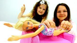 🛀 Кукла #БАРБИ в СПА Салоне! #ЛучшаяПодружка Настя Игры одевалки #длядевочек Видео #куклы