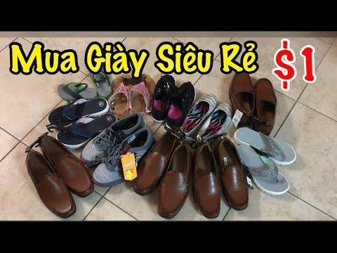 Mua Giày Siêu Rẻ $1 - Cuộc Sống Ở Mỹ - Co3nho 267