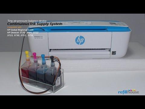 HP Deskjet 3700, 3720, 3755 CISS - HP 65, 805, 304, 123