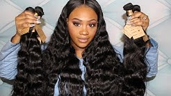 Ali Grace Review Series: Unboxing Brazilian Loose Wave and Body Wave
