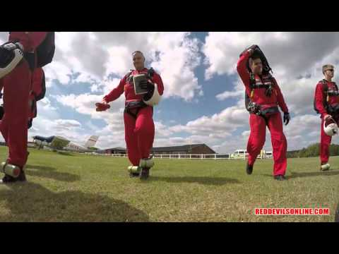 The Red Devils Freefall Team 2015 Show Reel