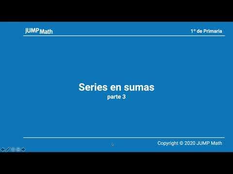1º. Unidad 3. Series en sumas. Parte III