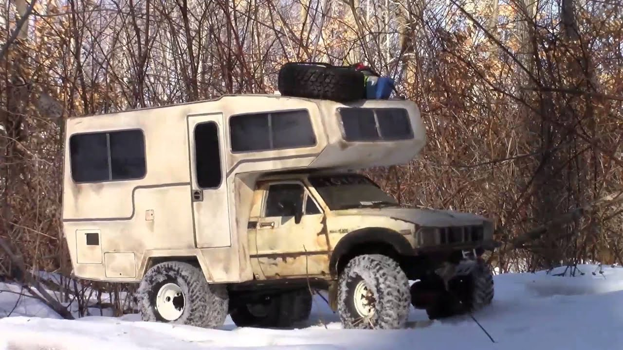 Rc4wd Tf2 Toyota Sunrader Rc Camper Winter Off Road