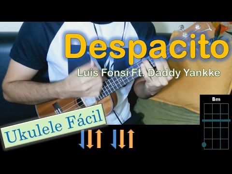 Como tocar DESPACITO en UKULELE / Luis Fonsi ft. Daddy Yankee / MoroMusicPiano