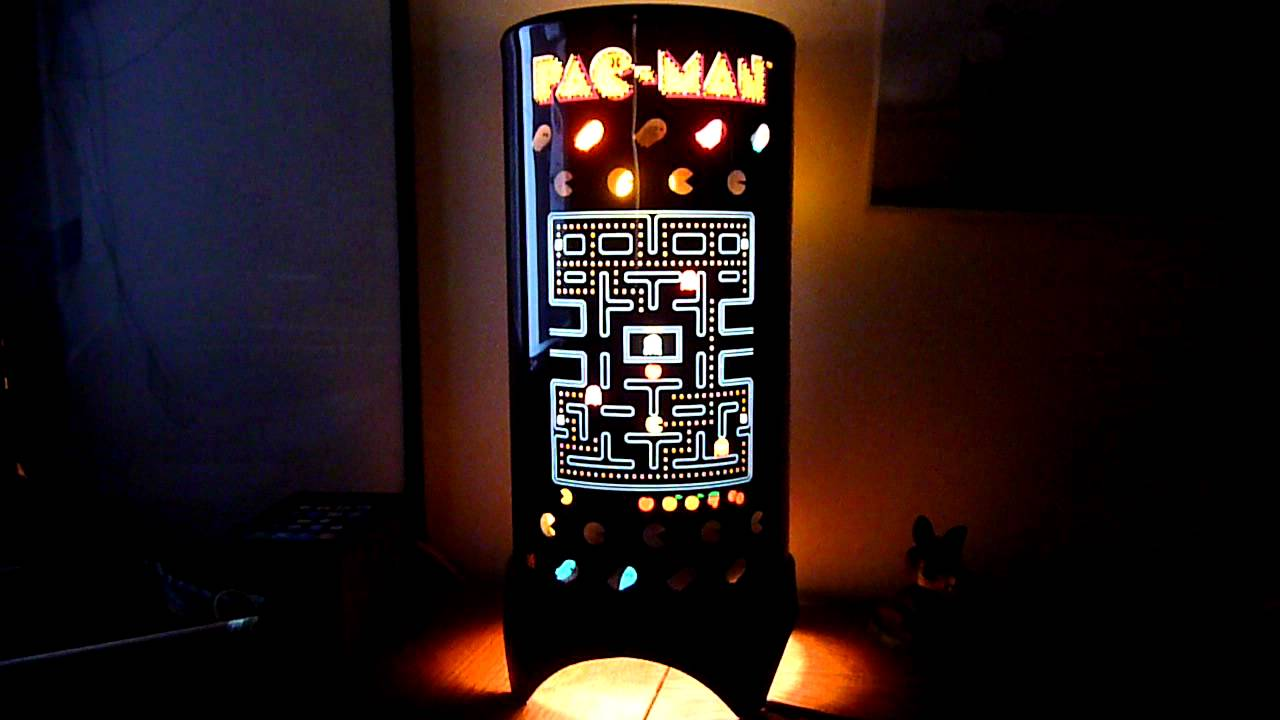 PacMan Motion Lamp   YouTube