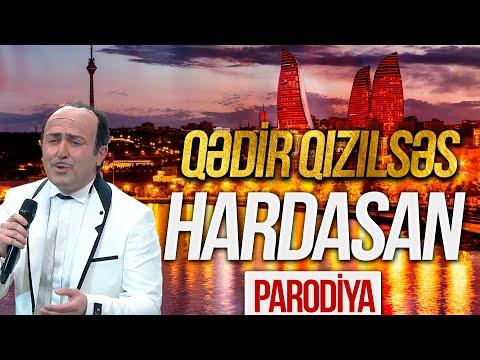Qədir Qızılsəs - Hardasan - PARODİYA (Elnur Mahmudov) - Həmin Zaur